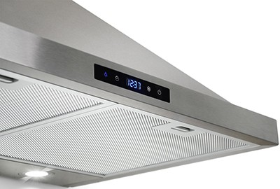 range hood reviews - AKDY small 2