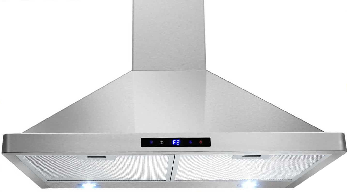 range hood reviews - AKDY big