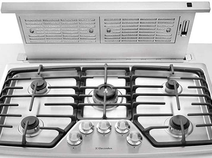 Range hood types (p2 guide) - Downdraft Ventilation System