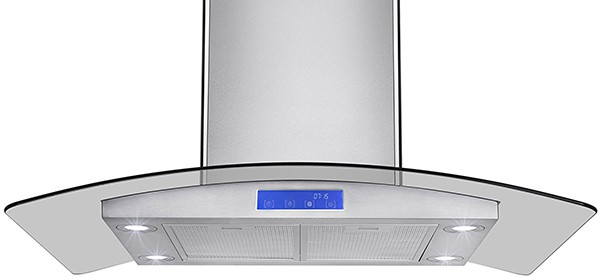 Best island range hoods - Firebird - Big
